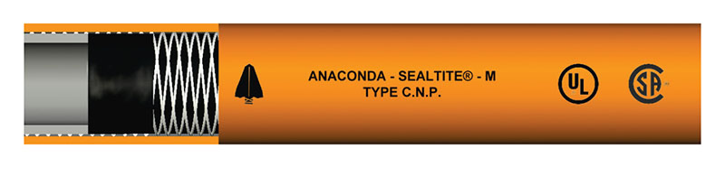 Item # 38612, Type CNP - Nonconductive Conduit Liquid-Tight Flexible