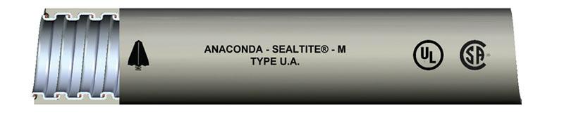 Type Ua Liquid Tight Flexible Metal Conduit Lfmc On Anamet